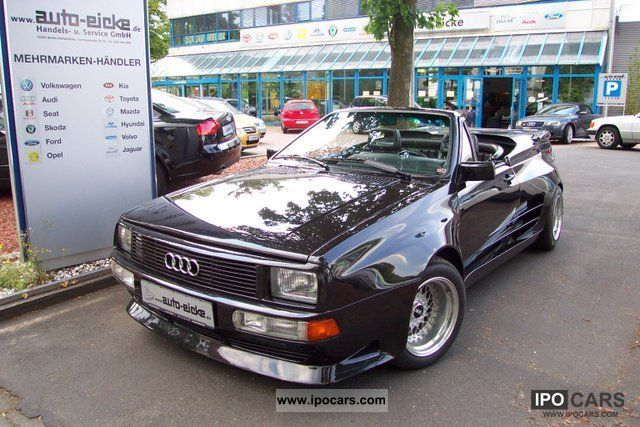 1985 Audi  Quattro Roadster Treser! Ur-Quattro! Cabrio / roadster Used vehicle photo