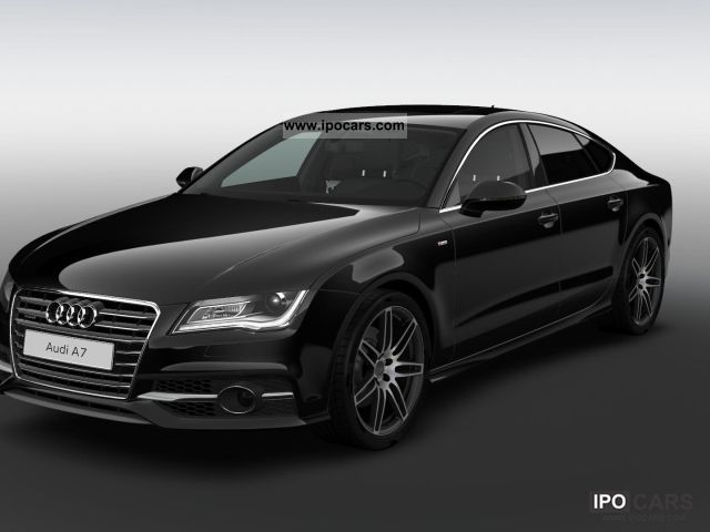2012 Audi  A7 3.0 TDI turbo sport selection / S-Line - LED * Sports car/Coupe Employee's Car photo
