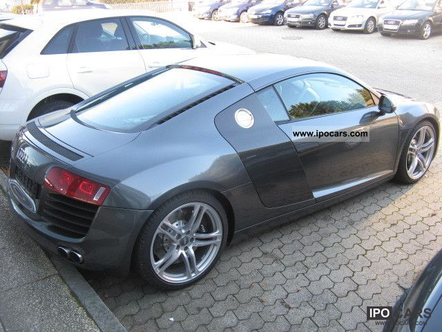 2007 Audi R8 Coupe 4 2 R Tronic Car Photo And Specs
