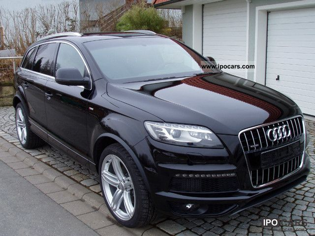 2012 audi q7 3 0tdi s line and s line exterior 21 car. Black Bedroom Furniture Sets. Home Design Ideas
