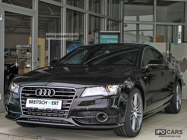 2012 audi a7 sportback s line 3 0 tdi quattro s tronic. Black Bedroom Furniture Sets. Home Design Ideas