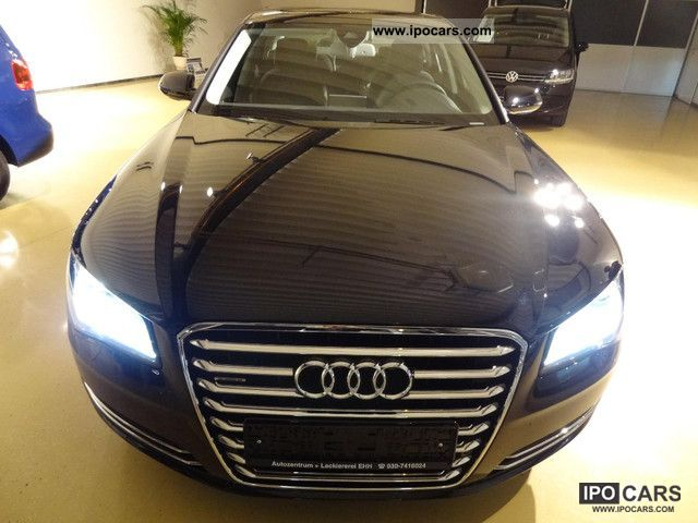 2011 Audi  A8 * GLASS ROOF * HEATER * KEY * FULL LUFTFERDERUNG Limousine Used vehicle photo