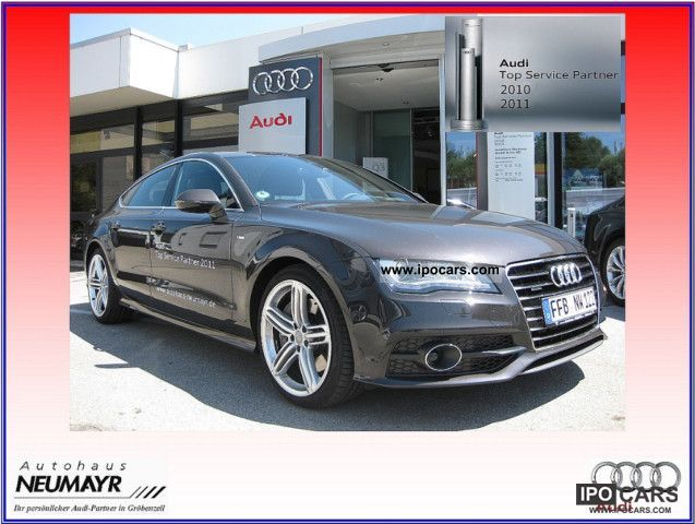 2011 Audi  A7 3.0 TFSI quattro s-tr. s online VOLLAUSSTATTUNG Sports car/Coupe Demonstration Vehicle photo