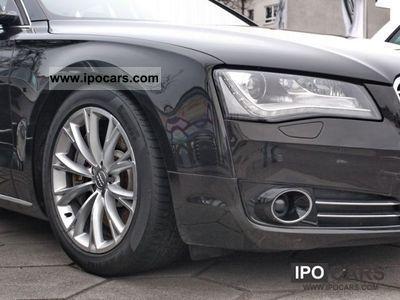 2010 Audi  A8 4.2 FSI, Balaobraun Exclusive Enzelsitze, TV Limousine Used vehicle photo