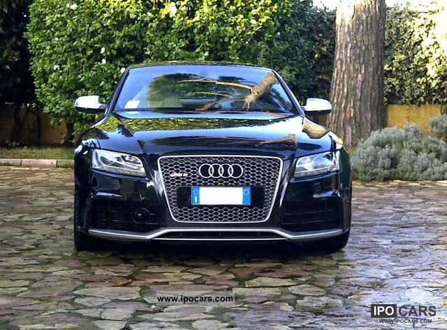 2010 audi rs5 car photo and specs. Black Bedroom Furniture Sets. Home Design Ideas