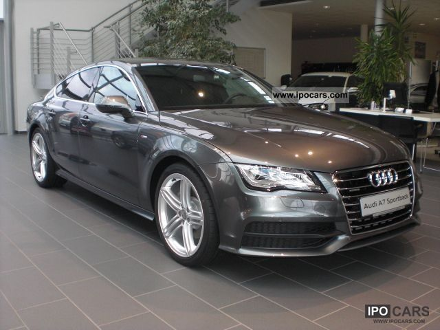 2012 audi a7 sportback 3 0 tdi qu s line s tronic car. Black Bedroom Furniture Sets. Home Design Ideas
