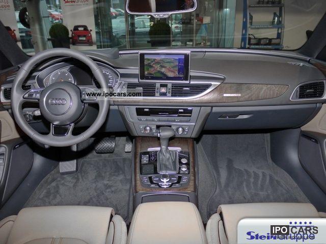 2012 Audi A6 30 Tdi Quattro S Line Leather Back Up Camera Car