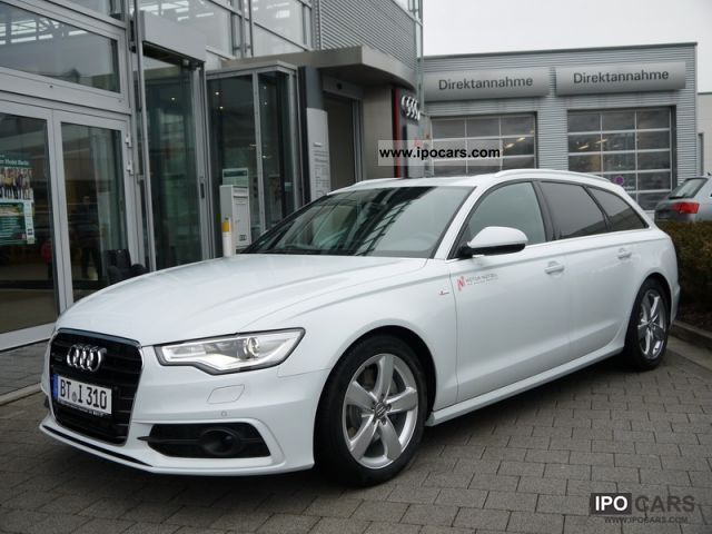 2012 Audi  A6 Avant 3.0 TDI S-Line sport package S tronic 7 Estate Car Demonstration Vehicle photo