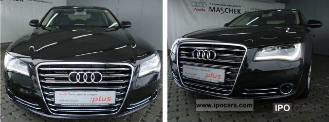 2011 Audi  A8 3.0 TDI qu. AHK Navi Plus Leather Komfortschlüs Limousine Used vehicle photo