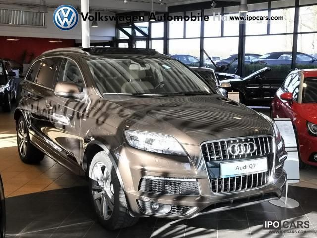 2010 Audi  Q7 Xenon AHK Air Suspension Leather Off-road Vehicle/Pickup Truck Used vehicle photo
