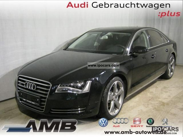 2011 Audi  A8 3.0 TDI LED-Scheinw./21'' / Standhzg./GSD/Side- Limousine Used vehicle photo