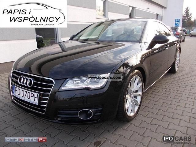 2010 Audi  A7 SalonPL Gwar.Fabr. 4x4 NAVI Sports car/Coupe Used vehicle photo
