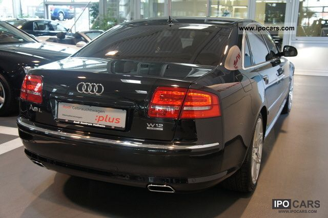 2010 Audi A8 6 0 W12 Quattro Long Tiptr Eupe 168000 Car