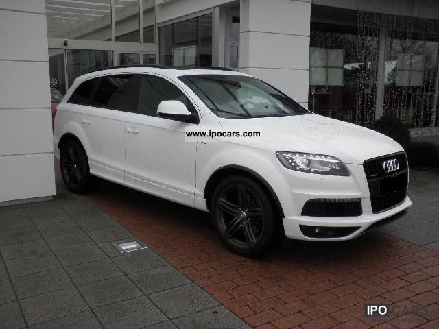 2012 audi q7 3 0 tdi quattro s line air 21 bose full car. Black Bedroom Furniture Sets. Home Design Ideas