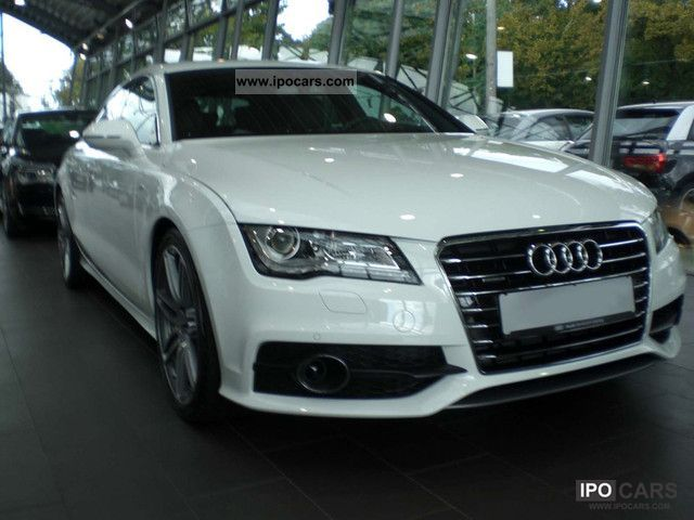 2012 Audi  A7 3.0 TDI S qua tronic/5-Sitzer/S-Line/HeadUp Sports car/Coupe Used vehicle photo