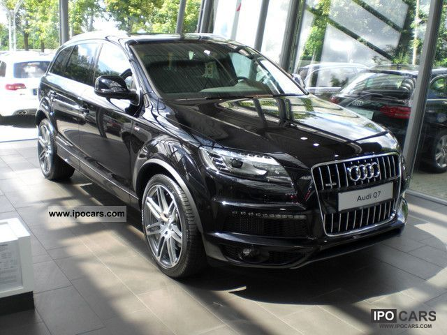 2012 audi q7 3 0 tdi dpf qua tip s line luft open 7 seat. Black Bedroom Furniture Sets. Home Design Ideas