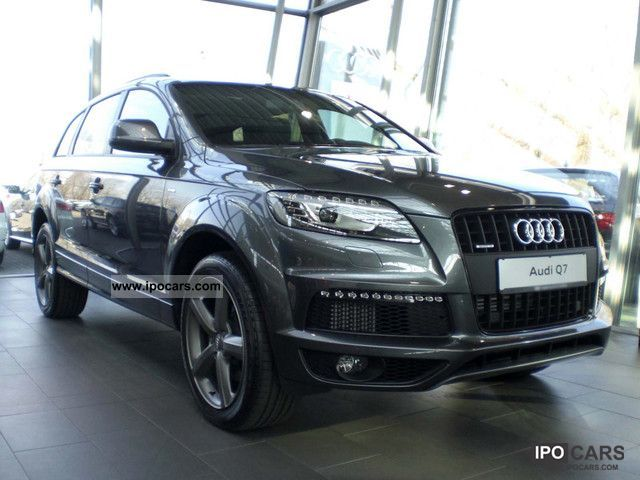 2012 audi q7 3 0 tdi dpf 8g s line open 7 sitze luft sthz. Black Bedroom Furniture Sets. Home Design Ideas