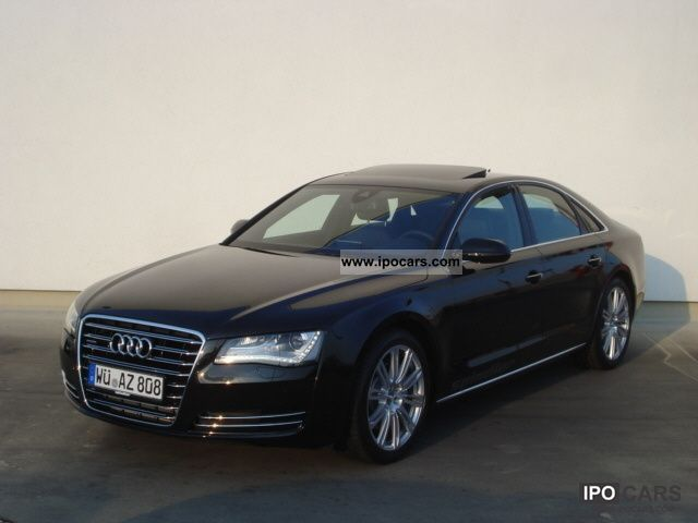 2011 Audi  A8 3.0 TDI (DPF) quattro Tiptronic / MMI navigation pl Limousine Demonstration Vehicle photo