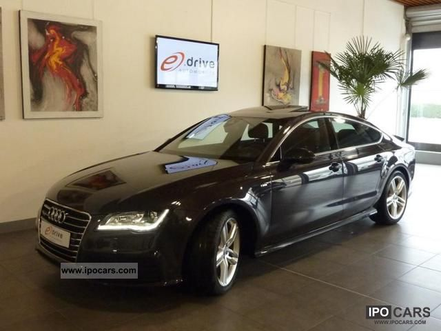 2012 Audi  A7 3L TDI 245 S LINE PLUS CH QUATTRO S T Sports car/Coupe Used vehicle photo