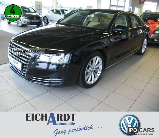 2011 Audi  A8 4.2 TDI Quattro BOSE LUFTFEDERUNG NAVI XENON Limousine Employee's Car photo
