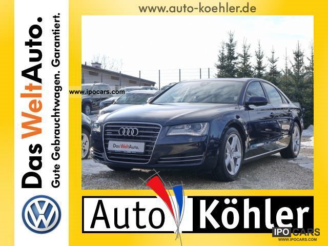 2011 Audi  A8 4.2 TDi Comfort seat package Limousine Used vehicle photo
