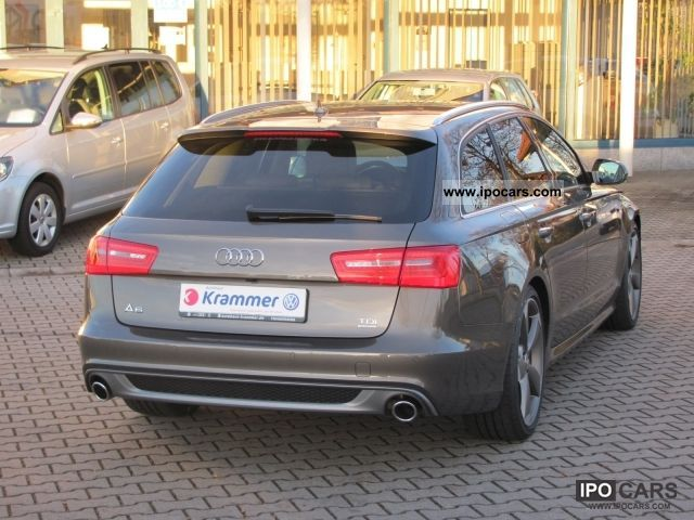 2012 audi a6 avant 3 0 tdi v6 quattro car photo and specs. Black Bedroom Furniture Sets. Home Design Ideas