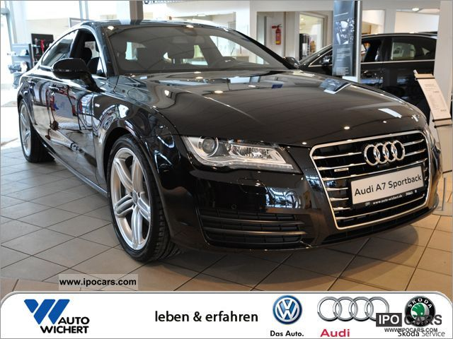 2012 Audi  A7 Sportback 3.0 TDI quattro Tiptronic HEAD UP Limousine Demonstration Vehicle photo