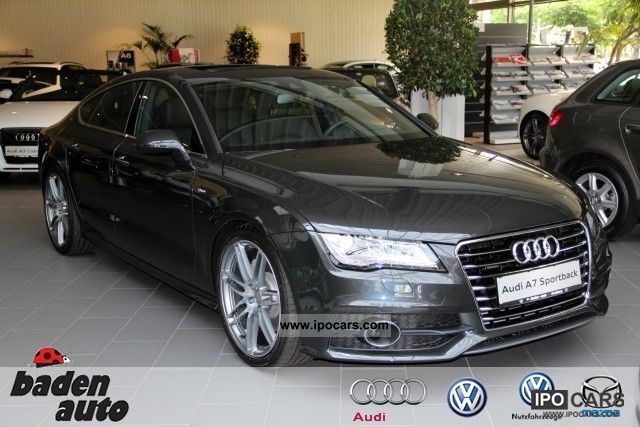 2011 Audi  A7 SB 3.0 TDI q. S-Line HUD night vision assistant Sports car/Coupe Demonstration Vehicle photo