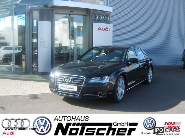 2012 Audi  A8 3.0 TDI A8 * qua largest selection of Germany * Limousine Used vehicle photo