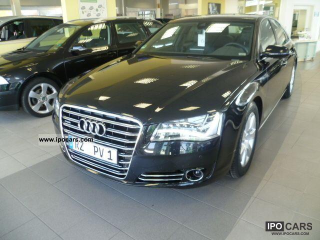 2011 Audi  A8 4.2 TDI DPF'' qu.tiptr.LED-Schw./21 / Bose Limousine Used vehicle photo