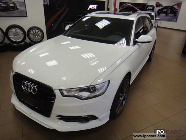 2012 Audi  A6 Avant 3.0 TFSI quattro S tronic ABT 420 HP! Estate Car Used vehicle photo