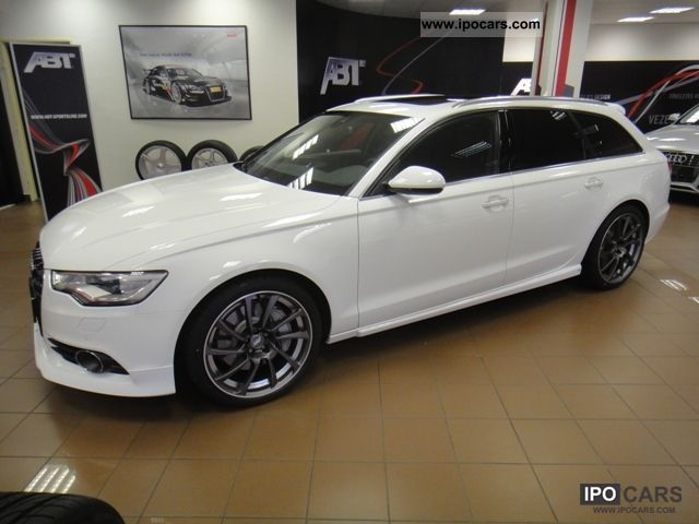 2012 audi a6 avant 3 0 tfsi quattro s tronic abt 420 hp car photo and specs. Black Bedroom Furniture Sets. Home Design Ideas