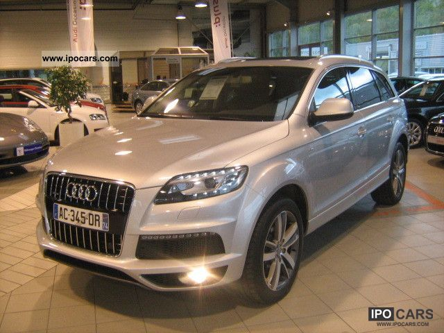 2009 audi q7 4 2 v8 tdi quattro tiptronic avus a 5 pl car photo and specs. Black Bedroom Furniture Sets. Home Design Ideas
