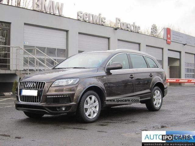 2010 Audi  Q7 Bezwypad. I-LINE PNEUMATIC wł.S. Off-road Vehicle/Pickup Truck Used vehicle photo