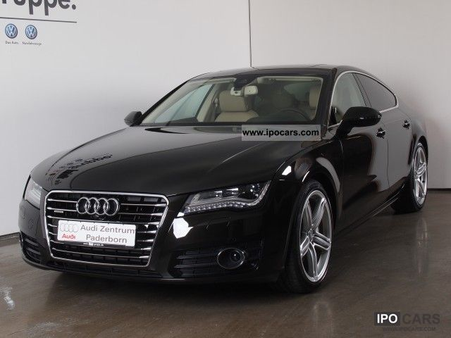 2012 Audi  A7 Sportback 3.0 TDI quattro tiptronic Bi-Turbo Limousine Demonstration Vehicle photo