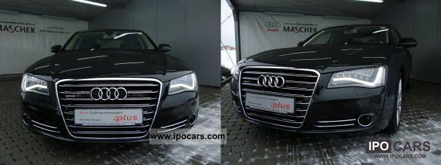 2011 Audi  A8 4.2 FSI qu. Leather heater Komfortschlüss Limousine Used vehicle photo