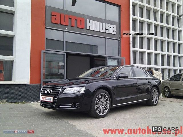 2012 Audi  A8 3.0 TDI camera, massage, Navi, New Limousine New vehicle photo