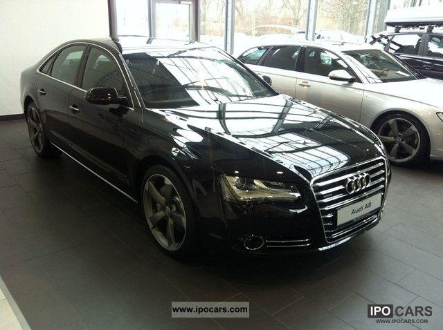 2012 Audi  A8 3.0 TDI DPF qua tip / Cruise / cam / Key / Seat Air / Limousine Used vehicle photo