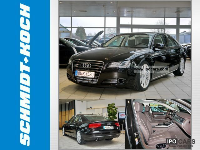 2012 Audi  A8 3.0 TDI Leather Navi Xenon Standh. ACC Limousine Demonstration Vehicle photo