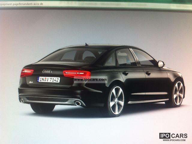 2012 audi a6 3 0 tfsi quattro cars tax deductable car photo and specs. Black Bedroom Furniture Sets. Home Design Ideas