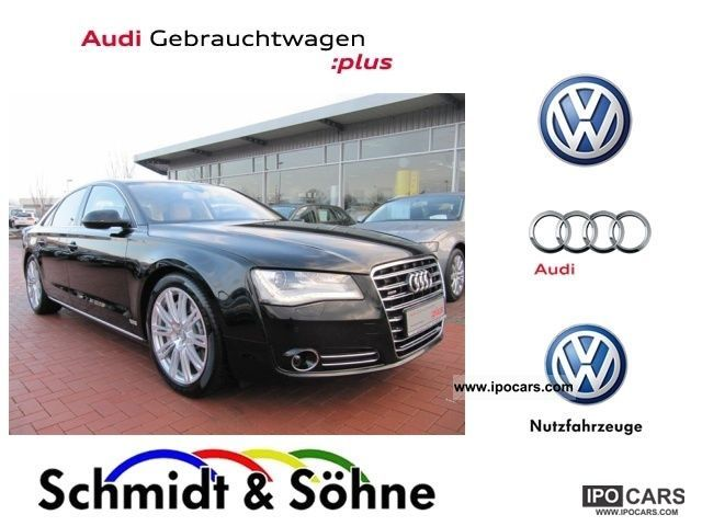 2010 Audi  Former A8 4,2 TDI. RRP: 168 755, - € air xenon Limousine Used vehicle photo