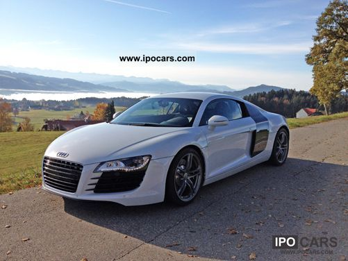 2010 Audi  R8 4.2 reclaimable VAT / € 1500 per month Sports car/Coupe Used vehicle photo