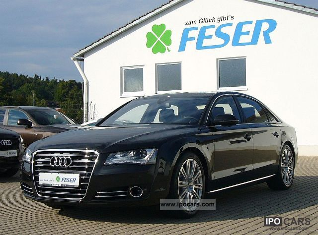 2011 Audi  A8 4.2 TDI Exclusive Long, B. &. O, RSE, panoramic roof Limousine Used vehicle photo