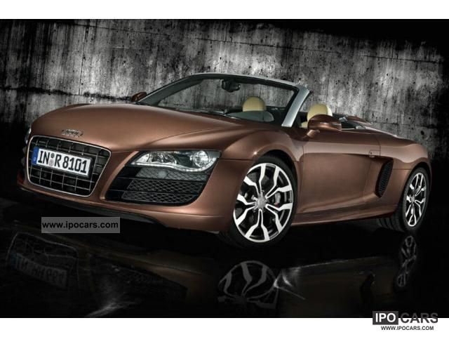 2011 audi r8 spyder 4 2 fsi quattro car photo and specs. Black Bedroom Furniture Sets. Home Design Ideas