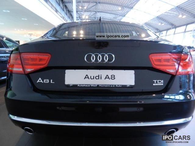 2012 Audi A8 4 2 Tdi Quattro Tiptronic Long Car Photo