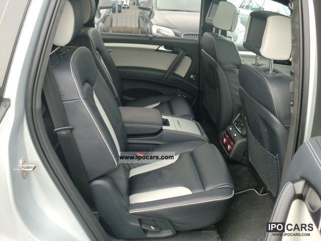 2011 Audi Q7 6.0 TDI quattro tiptronic 6 seats, rear seat - Car Photo and Specs