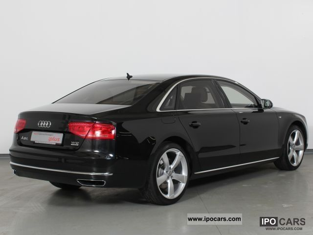 2011 audi a8 3 6 w12 quattro long car photo and specs. Black Bedroom Furniture Sets. Home Design Ideas