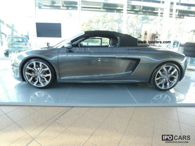 2011 audi r8 spyder euro 5 car photo and specs. Black Bedroom Furniture Sets. Home Design Ideas