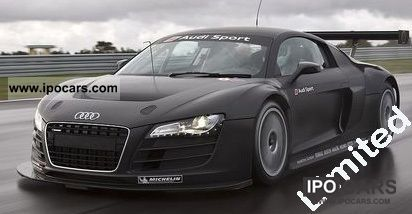 Audi  V10 FSI R8 LMS racing version has 500 hp 2011 Race Cars photo