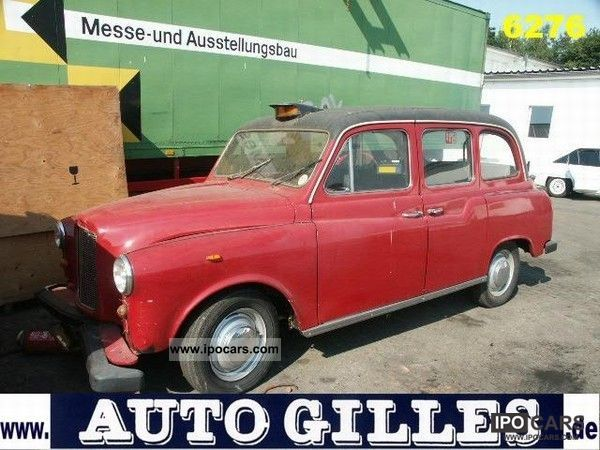 1970 Austin  AUSTIN FX4 English. Vintage Taxi Other Used vehicle photo